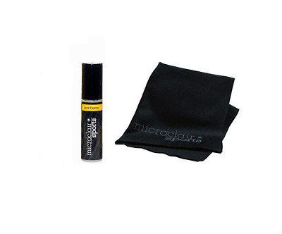 Microclair Sports Active - Streak-free Microfibre Lens Cloth & Lens Cleaner