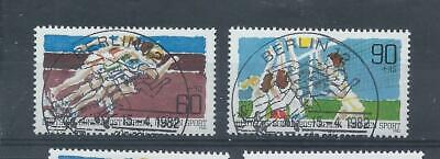 Berlin West Germany stamps  1982 Sport Promotion Fund used  (CTO) (E411)