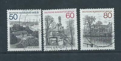 Berlin West Germany stamps 1982 Berlin Views used (E432)