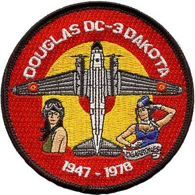 Parche DC-3 Ejercito Aire España Spanish Air Force Military Patch Army