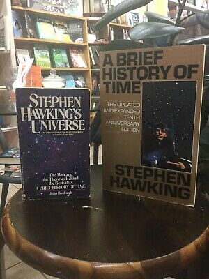 Stephen Hawking Books: Stephen Hawking's Universe & A Brief History of Time