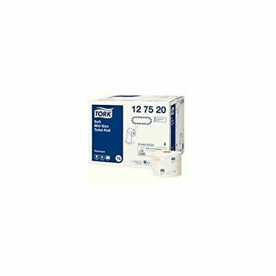 Toilet Tissue Tork T6 Compact Mid Sized 2 Ply White Premium 90M Box Of 27
