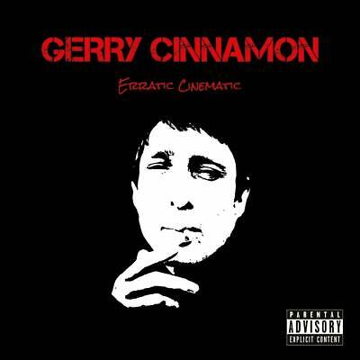 "Gerry Cinnamon ""Erratic Cinematic"" Red Vinyl LP Record (New & Sealed)"
