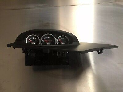 Ford Focus St225 Turbo Boost And Oil Gauges With Surround