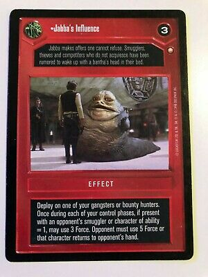 Star Wars CCG Jabba's Influence | Special Edition | NM/Mint