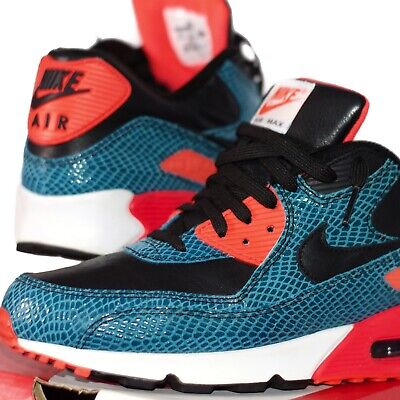 8142fd919a NIKE AIR MAX 90 25TH ANNIVERSARY RED VELVET 725235-600 US 7 SIZE cork  infrared.