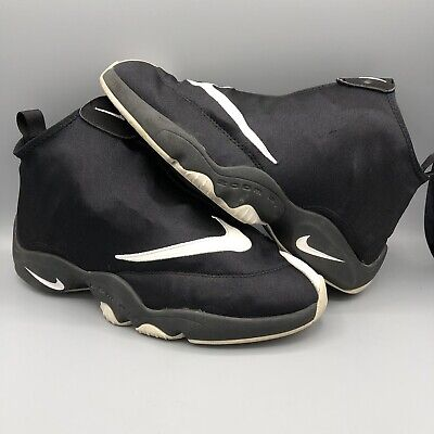 720847dfb8bd3 Nike Air Zoom Flight Glove Size 10.5 616772 001 Gary Payton Jordan Retro I  III L