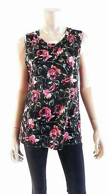 Xhilaration Womens size M Sleeveless Scoop Neck Cami Tank Zodiac Night Sleep Top
