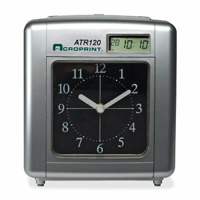 ACROPRINT ATR120R TIME CLOCK includes 25 TIME CARDS - $99 00