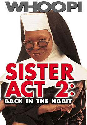 Sister Act 2: Back in the Habit (DVD,1993)