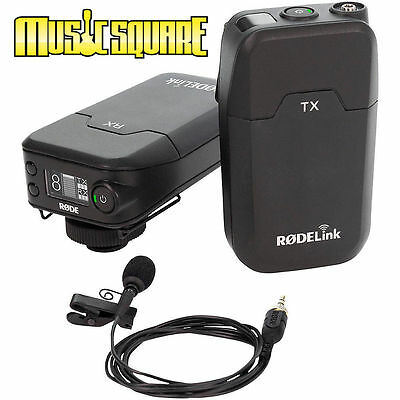 Rode Microphones RODElink Wireless Filmmaker Kit -Ships Day of Purchase IN BOX!