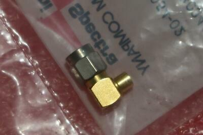 5-PCS Omni Spectra Macom 2007-5054-02 SMA  RG402 Connectors (High Quality) Gold!