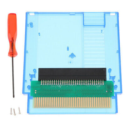 Converter Famicom 60 to 72 Pin Compatible for NES Console Transparent Blue