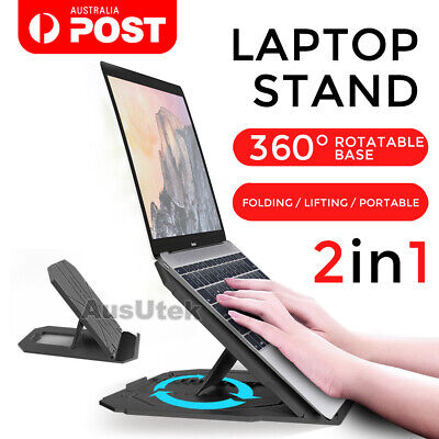 New Portable Foldable Adjustable Laptop Stand Desk Table Tray