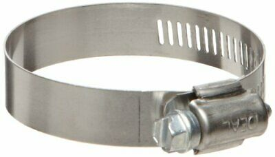 Ideal-Tridon Hy-Gear 50 Series Stainless Steel 201/301 Worm Gear Hose Clamp,