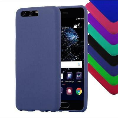 Coque pour Huawei Antichoc Frosted Couleurs Silicone Housse TPU Cover