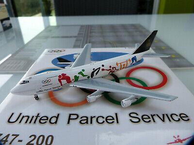 1/500e Big Bird UPS Olympic Boeing 747-200BF N521UP - RARE
