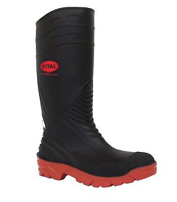 Himalayan 8814 Safety Wellington Boots S5 PVC Steel Toe Cap Work Mens Wellies