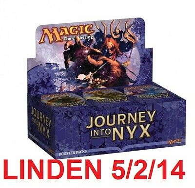 Mtg Magic Journey Into Nyx Booster Box Factory Sealed Linden