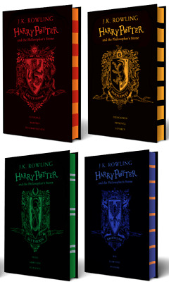 Harry Potter and the Philosopher's Stone 20th Anniversary Complete Hardcover Set