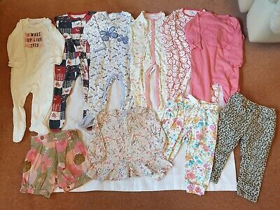 Baby Girl Clothes Bundle 9-12 Months Next TU Mini Club George F&F Excellent Cond