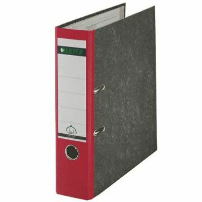 Leitz Lever Arch File Red 80mm - Each