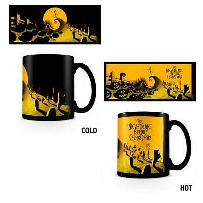 Nightmare Before Christmas Graveyard Heat Changing Tazza Termica Cambiacolore