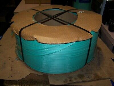 """New Dynaric Dura-Strap Green Strapping 9""""X8"""" Core 5.8"""" Width  23,000' Long P2140"""