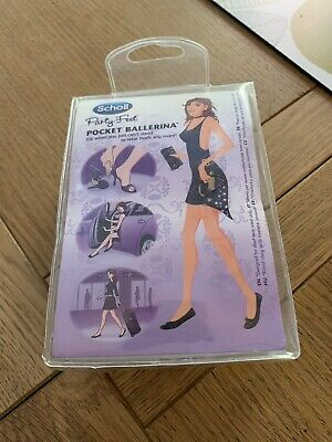 SCHOLL PARTY FEET Pocket Ballerina select size from UK