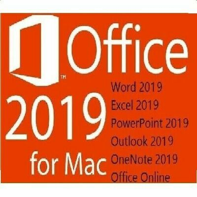 MS Office 2019 Home and Business für MAC Standard