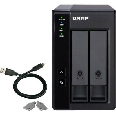 QNAP TR-002 2tb SSD Expansion 2x1000gb Samsung 860 QVO Drives