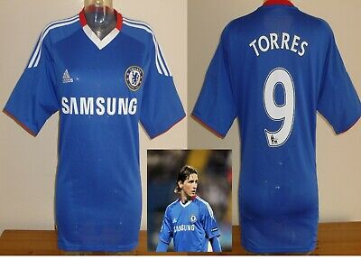 Chelsea home football shirt F.TORRES Spain Atletico Madrid soccer jersey adults