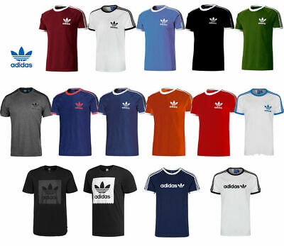Adidas Originals California Retro Essentials Crew Neck Short Sleeve Men T-Shirt