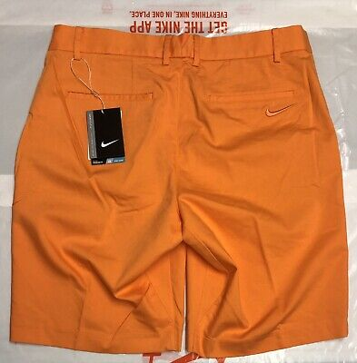 buy popular 8d20e f0d5b NIKE GOLF MODERN FIT WASHED MENS SHORTS FLAT FRONT Size 32 Brand New With  Tags