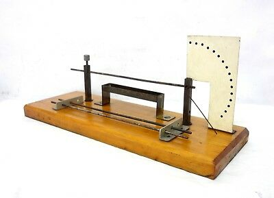 Antique Vintage & Very Rare Pyrometer Lab Demo Expansion Of Metals Apparatus See