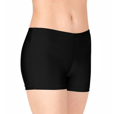 Paddies Girls Black Lycra Padded Gymnastics Shorts for bars