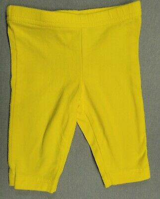 72d03a7b7dc24 NEW CARTER'S NEON Yellow Capri Leggings Stretch NWT 2T 3T 4T 5T 5 6 ...