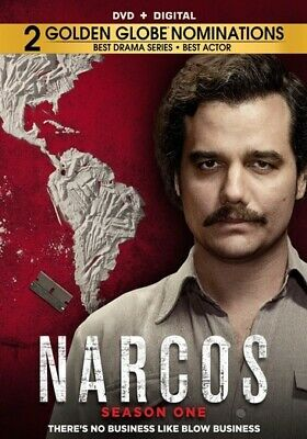 Narcos: The Complete First Season (DVD,2016)