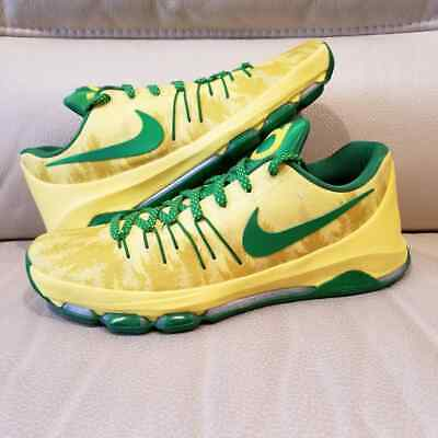 278d3a2b4508 NIKE KD 8 Oregon Ducks Unreleased PE Promo Sample Yellow Black M SZ ...
