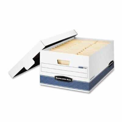 Bankers Box Stor/file - Legal, Lift-off Lid - Taa Compliant - Stackable - Medium