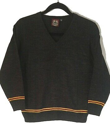 New Harry Potter Gryffindor Burgundy Gold Knit Sweater Unisex Usc