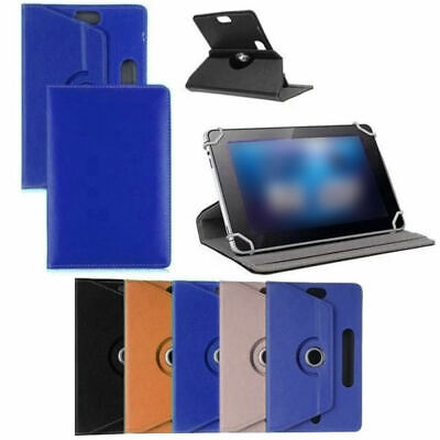 7/8/9/10inch Android Tablet Folio Leather Flip Case Cover Universal 360  UCX