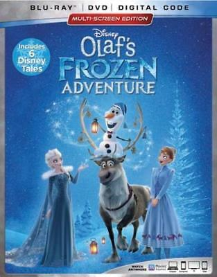 Olaf's Frozen Adventure (DVD,2017)