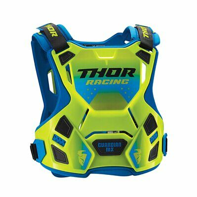 Thor Protect Guardian Mx Unisex Body Armour Chest Protection - Fluo Blue