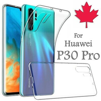 For Huawei P30 Pro Case - Clear Thin Soft TPU Transparent Silicone Cover