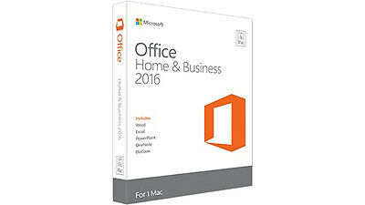 Microsoft Office 2016 Home & Student - 1 Mac (gza-00850) (gza00850)