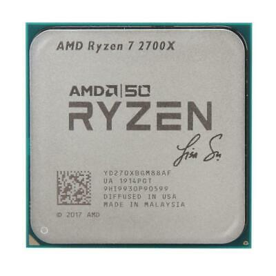 AMD Ryzen 7 2700X 50th Gold ED 4.3GHz AM4 8 Core 16 Thread Desktop CPU Processor