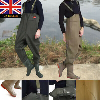 Waterproof Chest Waders Stockingfoot Breathable For Fly Coarse Fishing Size 5-11