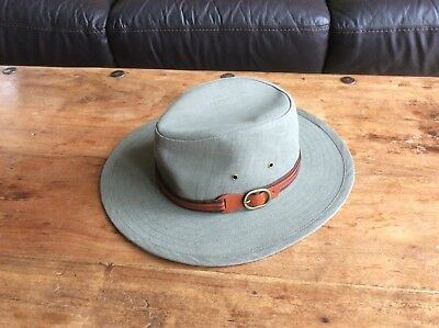 c55ddc952f7dc MARKS & SPENCER Stone Colour Sun Hat Size X-Large (7 1/2-7 5/8) RRP ...