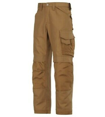 Snickers Heavy Duty Canvas Trousers 34W 30L